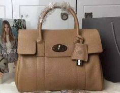 Mulberry Spring Summer 2015 Catwalk Collection Outlet UK-Mulberry Bayswater Tan with Silver Hardware