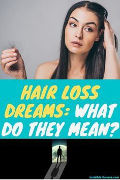 Do you have recurring hair loss dreams? There are multiple possible interpretations - check them out here! Long Hair Tips, Grow Long Hair, Easy Hairstyles For Long Hair, Diy Hairstyles, Healthy Hair Tips, Healthy Hair Growth, Healthy Life, Diy Hair Care, Hair Care Tips