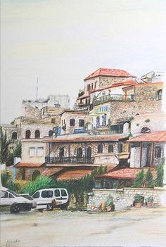 Safed by David Cohen on ARTwanted