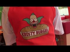 Krusty Burger opens at Universal Orlando in The Simpsons Springfield Fas...