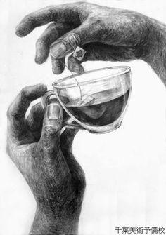デザイン工芸科 | 参考作品/合格作品 千葉美術予備校 Feet Drawing, Drawing Sketches, Pencil Drawings, Art Drawings, Charcoal Drawings, Drawing Lessons, Drawing Techniques, Line Sketch, Pencil Shading