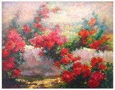 pintura de rosas - Pesquisa Google