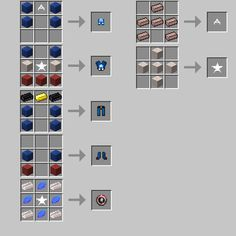 minecraft superhero unlimited mod 1.7 10 recipes