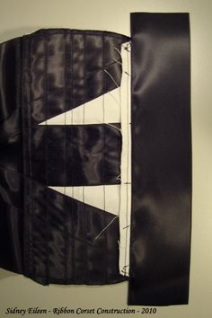 How to Make a Basic Ribbon Corset – Part 4 » By Sidney Eileen