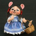 Annalee Wizard of Oz Dorothy Mouse 2008