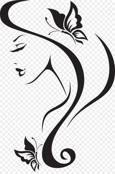 Beauty Parlour Wall decal Barbershop Hairdresser invisible woman Unlimited D Pencil Art Drawings, Easy Drawings, Art Sketches, Drawing Faces, Molduras Vintage, Outdoor Fotografie, Barbershop Design, Silhouette Art, Barber Shop