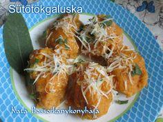 Sütőtökgaluska (Gluténmentesen is) Izu, Shrimp, Food, Meals, Yemek, Eten