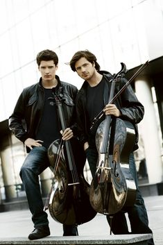 2CELLOS Photos, 2CELLOS Pictures | The Official 2CELLOS Site. These guys are amazing! Look them up on YouTube!