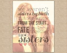 sister friend quotes! cute gift for your best friend forever! gifts for birthdays. gifts for your friends.