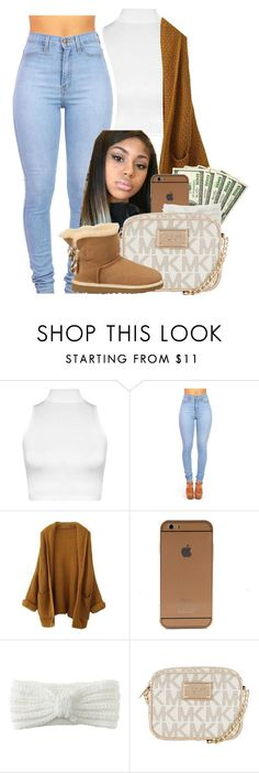 . by heavensincere ❤ liked on Polyvore featuring WearAll, Aéropostale, MICHAEL Michael Kors and UGG Australia