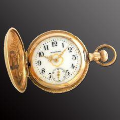 『ウオルサム(WALTHAM)の時計』 https://ureruyo.com/tokei/waltham/ 1850年に誕生したアメリカ最古の老舗時計ブランド。長い歴史の中で数々の歴史的人物に愛用されたことでも有名です。ウオルサムの時計は現在でも人気ですが、特に金・銀を用いた時計やアンティークの時計がオークションにて高値で取引される場合もあります!