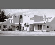 """""""The California desert continues to charm me, continues to nourish me, to give me an opportunity for modern architecture, from time to time,"""" Albert Frey (1903-1998) wrote to friend and mentor Le Corbusier in 1936, one year after completing the San Jacinto Hotel (above), which became the Movie Colony Hotel. Photography by Mary E. Nichols"""