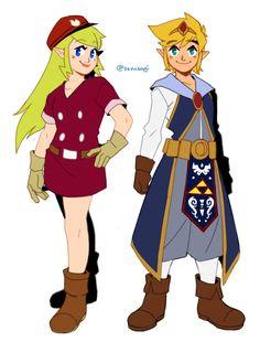 「大地の汽笛 LOG [09]」/「ブルー」のイラスト [pixiv]. Zelda should be wearing pants underneath that too.