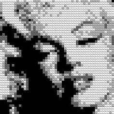 LEGO Marilyn | Brixel -- Get your own custom design made too!