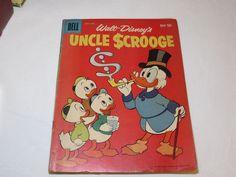 Dell #34 Walt Disney's Uncle $crooge Scrooge #27 1959 Comic RARE vintage #%