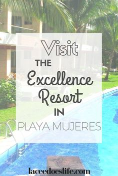 Everything that you need to know about a relaxing vacation at the Excellence Resort in Playa Mujeres. As well as gorgeous excursions that you can't miss! Excellence Resorts, All Inclusive Trips, International Travel Tips, Mexico Vacation, Mexico Travel, Travel Destinations, Travel Trip, Travel Guide, Travel Inspiration