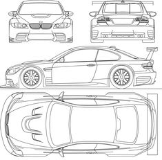 Index Of Var Albums Blueprints Car Blueprints Bmw