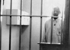Nelson Mandela returns to his former prison cell at Robben Island Nelson Mandela Prison, Man Of Peace, African National Congress, First Black President, Human Rights Activists, Black Presidents, Apartheid, Adventure Holiday, Nobel Peace Prize