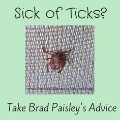 I keep reading lots of really horrible advice on how to remove ticks. This method is the ONLY safe way of removing ticks. Although, the bulls-eye symptom mentioned in the article is not always the first symptom of Lyme Disease. The bulls-eye only shows up about 50% of the time.