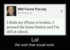 I would so need a IPhone!