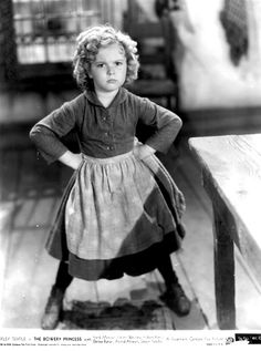 Shirley Temple.....Loved watching her movies as a little girl! Always thought she was MY age and not older than my mom.....