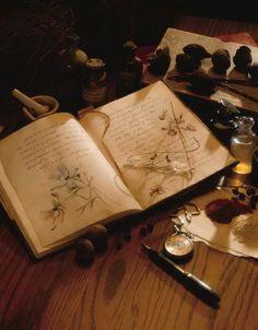 a book of herbs....