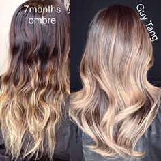 Balayage Ombre make-over