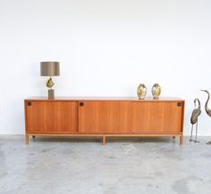 Large Extraordinary sideboard by Alfred Hendrickx for Belform