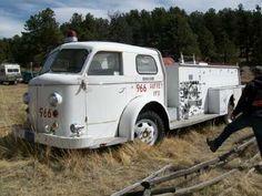 1956 American La France fire truck