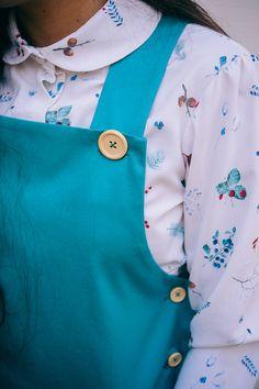 ENCHANTED Ioana Petre, watercolor berries, pattern, berries pattern, peter pan collar, berries shirt, gouache illustration, berries illustration, illustration on fabric