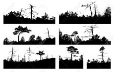 http://previews.123rf.com/images/basel101658/basel1016581110/basel101658111000309/10955350-silhouettes-tree-on-white-background-Stock-Photo-tree-tattoo-forest.jpg