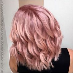 Rose Gold Hair | Inspiration
