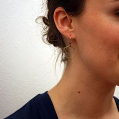 $29 Hex Earrings now featured on Fab.