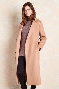 Anthropologie EU Hartley Wrap Coat by Seen Worn Kept. Endlessly flattering, perfectly ladylike and always ready for a party: it's no wonder we adore Seen Worn Kept's delightful dresses and blouses.
