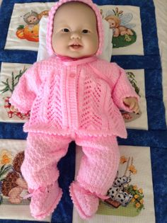 Newborn coming home outfit  Matinee Coat by Meganknits4charity, £20.00