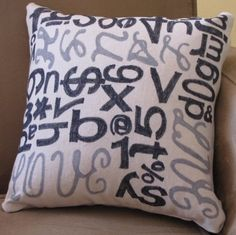 Another neat pillow