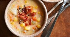 This easy slow cooker corn chowder recipe is perfect for a cozy night in. Pair a bowl of warm corn chowder soup with a green salad and a dinner roll to round out the meal. Slow Cooker Corn Chowder, Crock Pot Slow Cooker, Crock Pot Cooking, Slow Cooker Recipes, Crockpot Recipes, Cooking Recipes, Chowder Recipes, Soup Recipes, Recipies