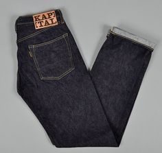 Gonna try these on tonight. I love the look of this dry and orange line selvedge.