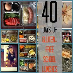 40 Days of Gluten-Free School Lunches!
