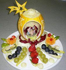 Melone Natalizio (sergio albani) Tags: frutas fruits vegetable carving natale frutta verdura melone natalizio intagli scolpire