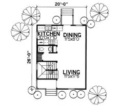 Houseplans.com Main Floor Plan Plan #50-237