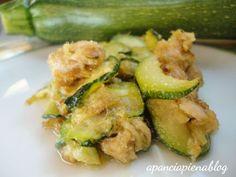 Zucchine trifolate al tonno (ricetta semplice)