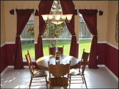 two tone colors for dining room walls - Google Search