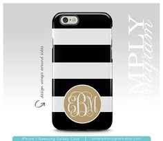 Tough Collection Apple iPhone & Samsung Galaxy Cases View all of our designs at ( simplymonogram.etsy.com )  Show off your unique style with a personalized case!