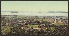Golden Gate from Berkeley Heights 1898. by vintagephotograph