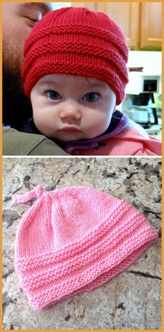 Baby Beanie - Free Pattern - Knitting is as easy as 3 The knitting . Baby Beanie – Free Pattern – Knitting is as easy as 3 Knitting boils down to three Baby Knitting Patterns, Baby Hats Knitting, Knitting Stitches, Baby Patterns, Free Knitting, Knitting Yarn, Beanie Babies, Knitted Baby Beanies, Knitted Hats