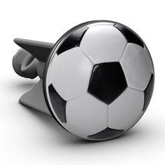 Waschbeckenstöpsel Fußball - Plopp