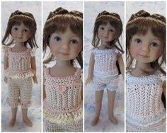 By Hook, By Hand doll clothes free pattern