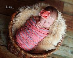 Leighton Heritage Newborn Ruffle Stretch Wraps by LeightonHeritage, $14.99