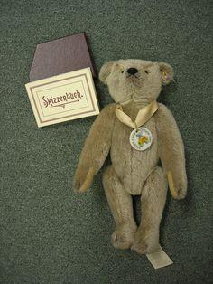 Steiff  SALE Mohair Club  Ltd. 2005 Gray Teddy Bear  SALE RETIRED    #Steiff